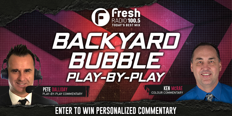 Backyard Bubble Play-by-Play