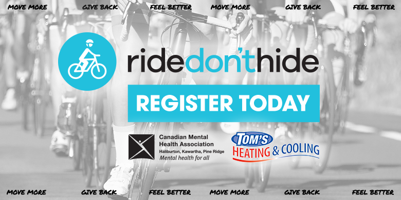 CMHA RIDE DON'T HIDE 2021