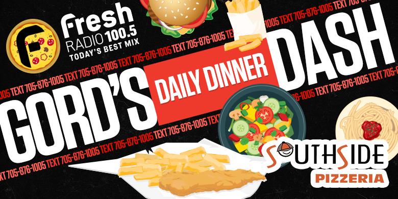 Gord's Daily Dinner Dash